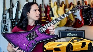 Schecter Made the Lamborghini of Guitars! - Demo / Review