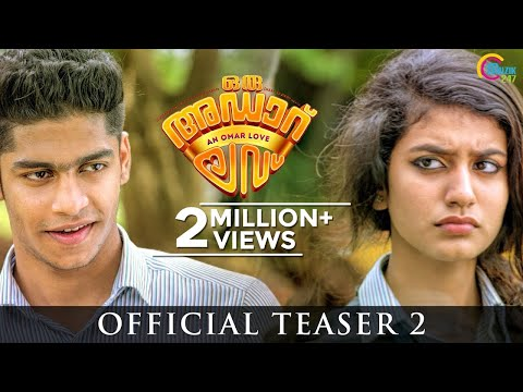 Oru Adaar Love | Official Teaser 2 | Omar Lulu | Malayalam Movie | HD Mp3