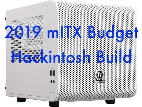 2019 Core i3-8100 Budget mini-ITX Hackintosh Build