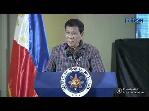 President Duterte Full Speech December 7, 2017