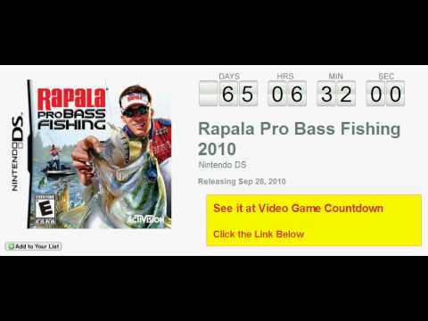 How do I change lures in rapala pro bass fishing