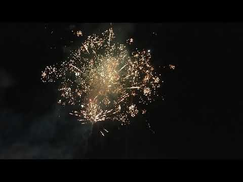 Sunday Night Mississippi Valley Fair Fireworks After Brad Paisley Concert