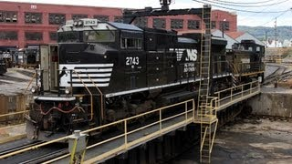 HD Juniata Locomotive Shops of Norfolk Southern at Altoona,PA 09/24/2012