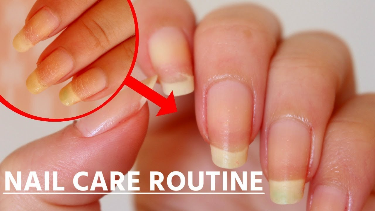 HOW TO Repair Damaged Nails   Nail Care Routine 2017   Makeupmagique ...