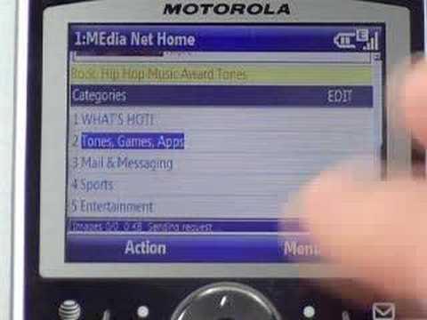 AT&T Motorola Q Global