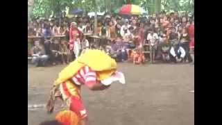 sekar kencono Bujang Ganong Action 2014