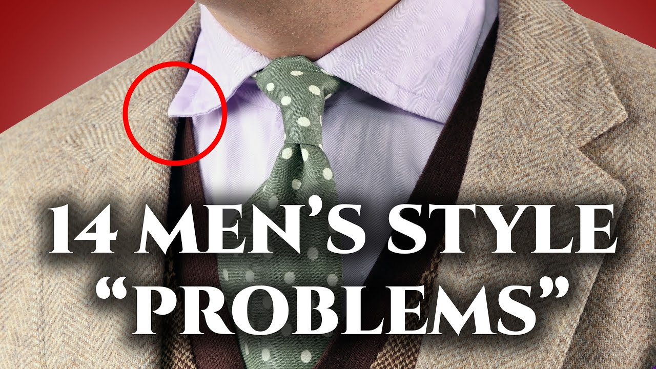 """14 """"Problems"""" Only Men's Style Experts Notice--Do You?"""