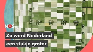 Hoe Nederland 100 jaar geleden een stuk groter werd | NOS op 3