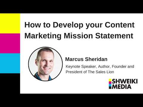 How to Develop Your Content Marketing Mission Statement