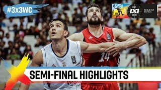 Serbia v Poland | Semi-Final Highlights | FIBA 3×3 World Cup 2018