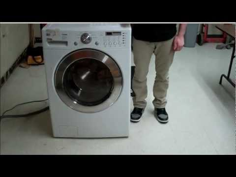How to Fix an LG Front load washer machine that wont spin