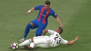 PES 2017 - FC Barcelona vs Real Madrid CF   Gameplay (PC HD) [1080p60FPS]