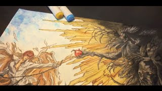 Death Note Speed Drawing [Copics] デスノート