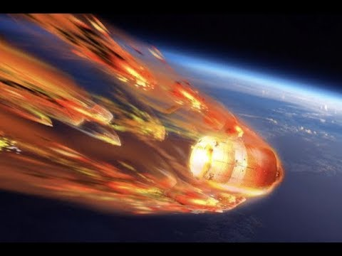 "Breaking ""China Space Station Crashing Down Tonight"""