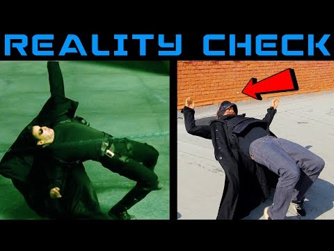 Testing the Matrix Bullet Dodge in Real Life |