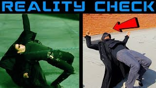 Testing the Matrix Bullet Dodge in Real Life