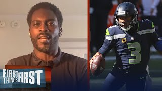 Michael Vick reacts to Cowboys loss to Seattle, impressed with Russell | NFL | FIRST THINGS FIRST