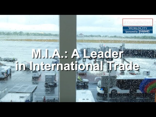 Miami International Airport: One of the Leading Airports in International Trade