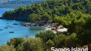 Samos Island - JustGreece.com(Video about Samos Island in Greece. See in this video how beautiful Samos is and especially Kokkari, Pythagorion, Posidonion, Psili Ammos, Limnionas, ..., 2016-04-11T19:20:48.000Z)