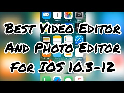 2019 BEST VIDEO EDITOR AND PHOTO EDITOR FOR IOS 10-12 / IPHONE