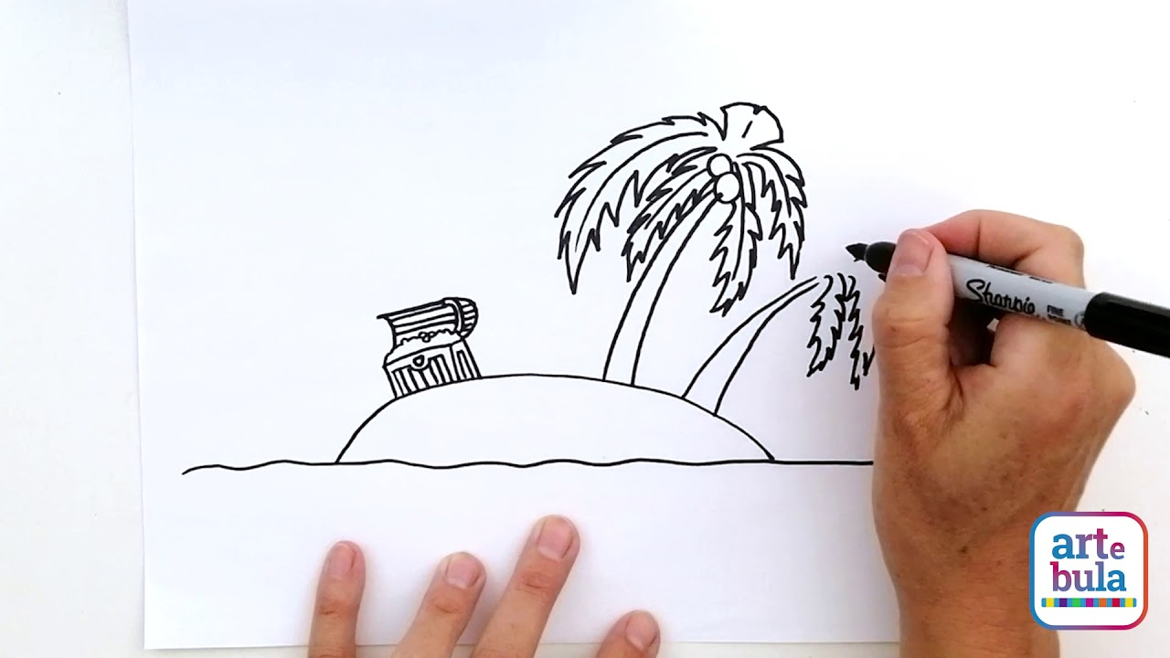 How to Draw a Treasure Island