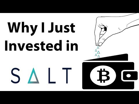 Why I Just Bought a Ton of Salt