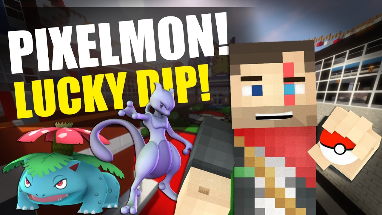 Pixelmon lucky dip map download