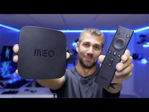 A NOVA Caixa Android TV da MEO Está AQUI !!! 👍