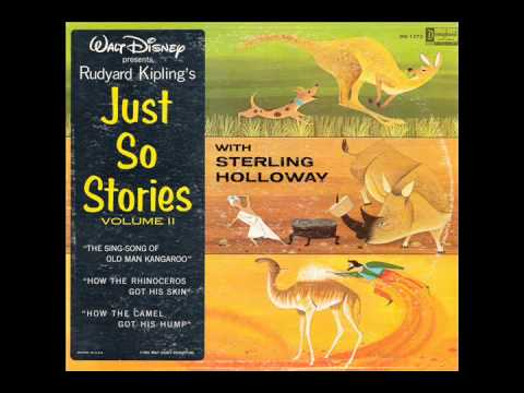 Just So Stories Volume 2 (Disneyland DQ-1275) - Sterling Holloway