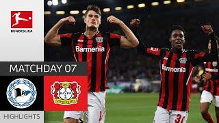 Arminia Bielefeld Bayer 04 Leverkusen 0 4 Highlights Matchday 7 Bundesliga 2021 22
