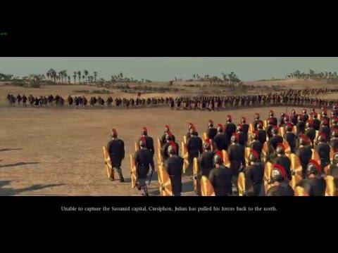Attila Total War - Battle of Samarra | Historical Battle [1080p]