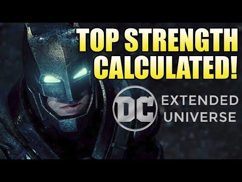 How Strong is the DCEU Batman?