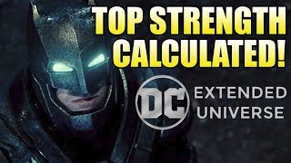 How Strong is the DCEU Batman?