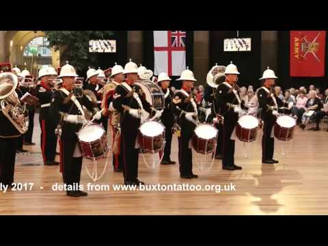 Buxton Military Tattoo 2016 - HM Royal Marines Band - Gibraltar