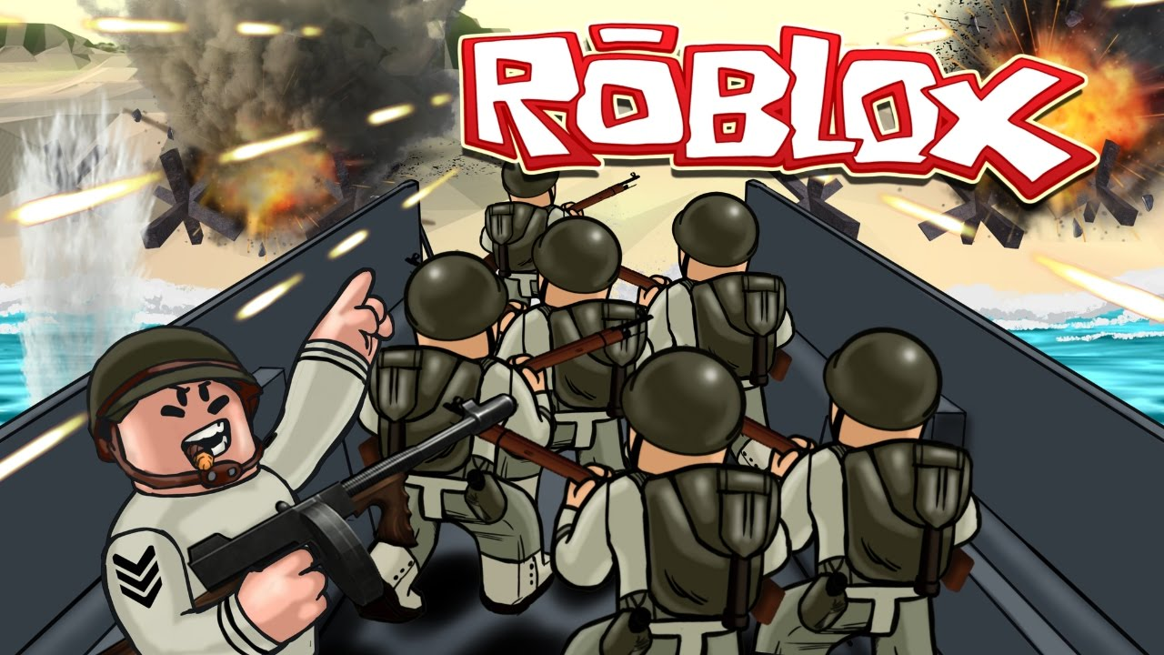 Roblox WORLD WAR 2 Dday Invasion Roblox Roblox WW2