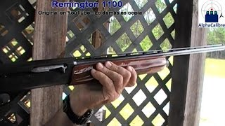 Gambar cover Remington 1100 - Desarme básico de escopeta semiautomática