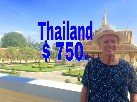 Living Under $750  in Thailand Travel Destination :Vacation Thailand  $750  Cheap Travel