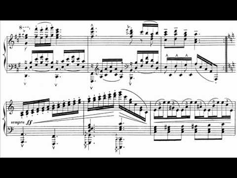 Hamelin plays Chaminade - Theme and Variations Audio + Sheet music