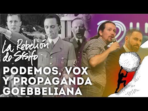 ? Podemos, Vox, y los once principios de la propaganda de Goebbels