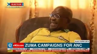 Zuma campaigns for ANC