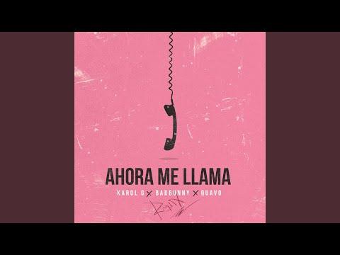Ahora Me Llama Remix