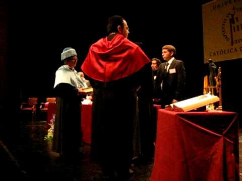 Cañizares, honoris causa de la Universidad Católica