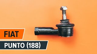 How to replace Tie rod end on FIAT PUNTO (188) - video tutorial