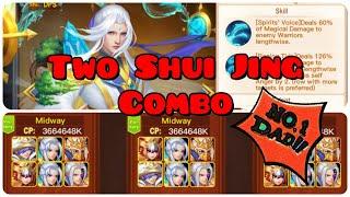 Battle Replays ~ Midway TWO 'Shui Jing' Combo 😍😍