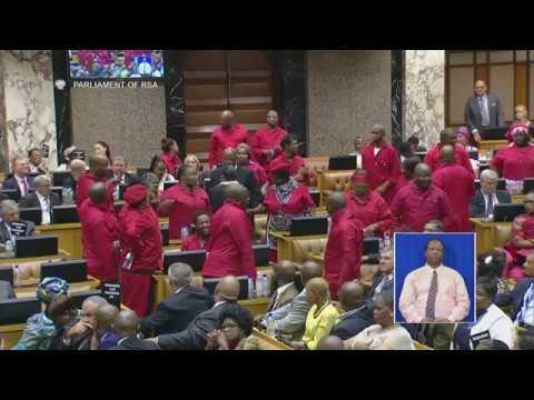 Watch Julius Malema roast Baleka Mbete #SONA2017