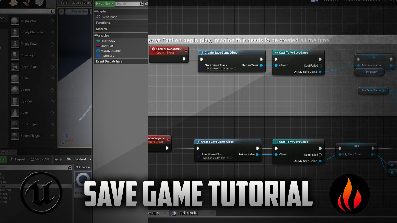 Unreal Engine 4 - Save any Variable