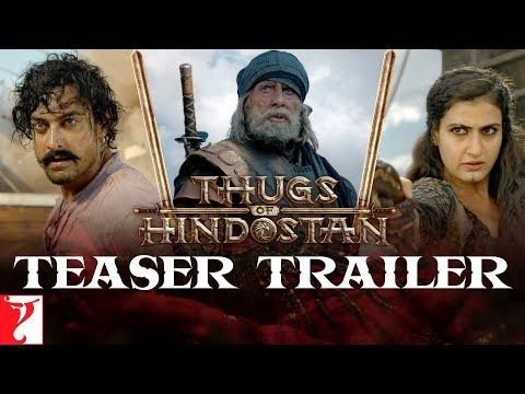 Thugs Of Hindostan | Teaser Trailer | Amitabh Bachchan, Aamir Khan, Katrina, Fatima Mp3