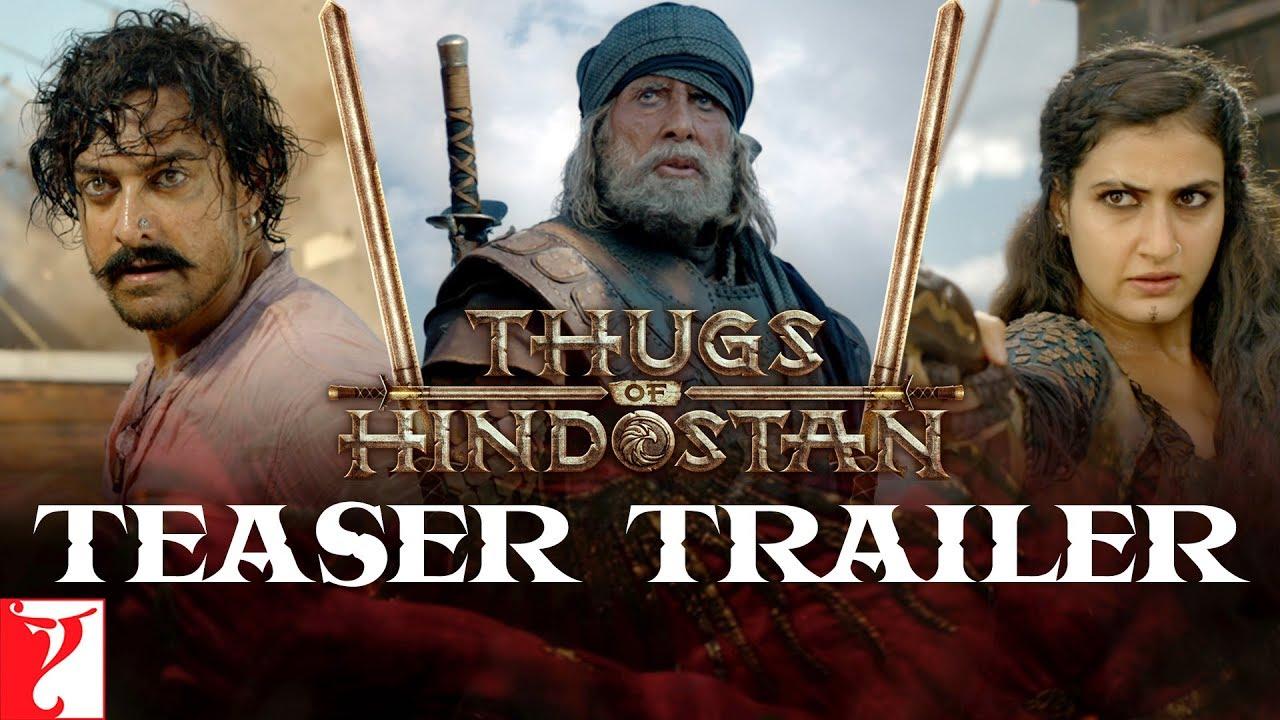 Download Thugs Of Hindostan | Teaser Trailer | Amitabh Bachchan, Aamir Khan, Katrina, Fatima