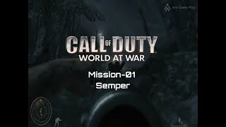 Call of Duty World At War Mission-01 Semper