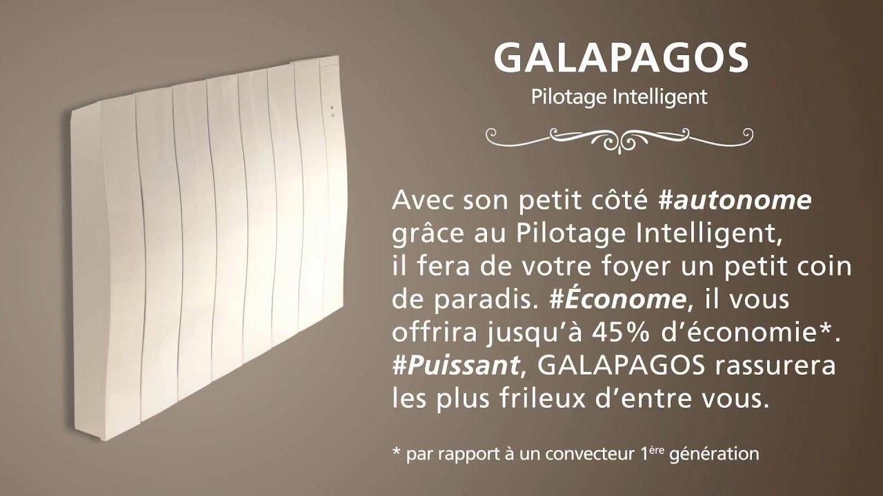 Radiateur Galapagos Pilotage intelligent- ATLANTIC - YouTube